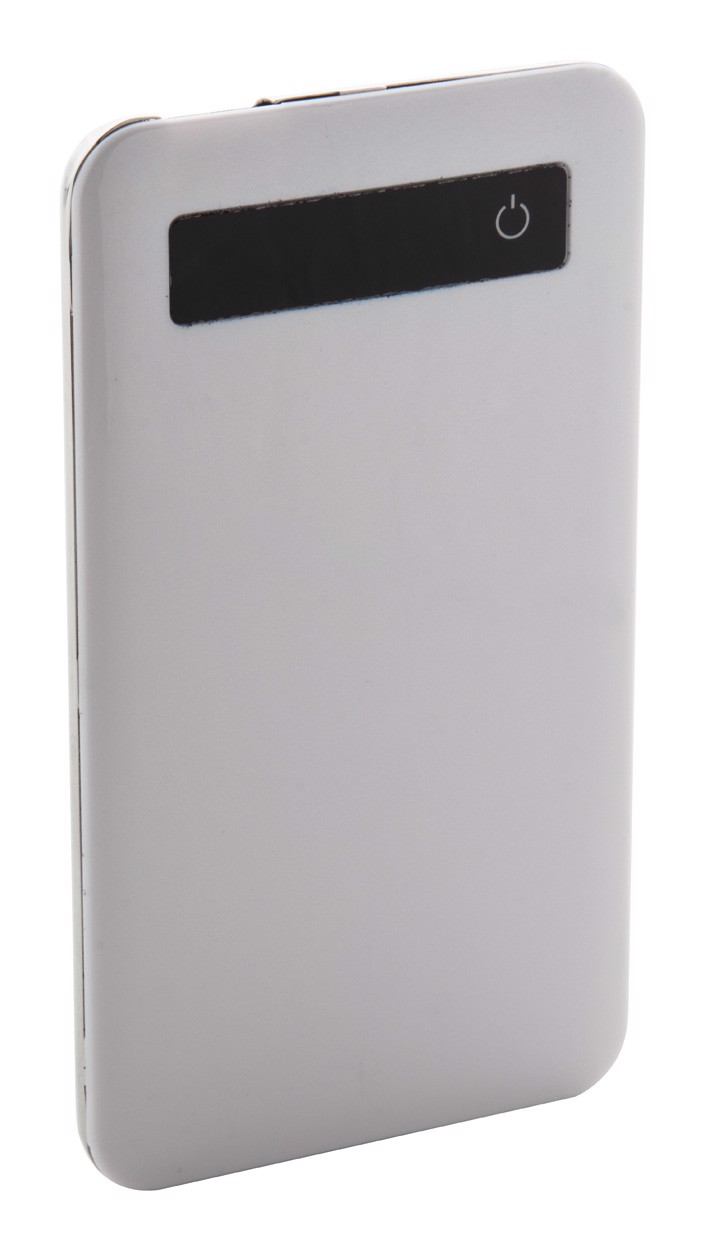 USB polnilna baterija Osnel - bela