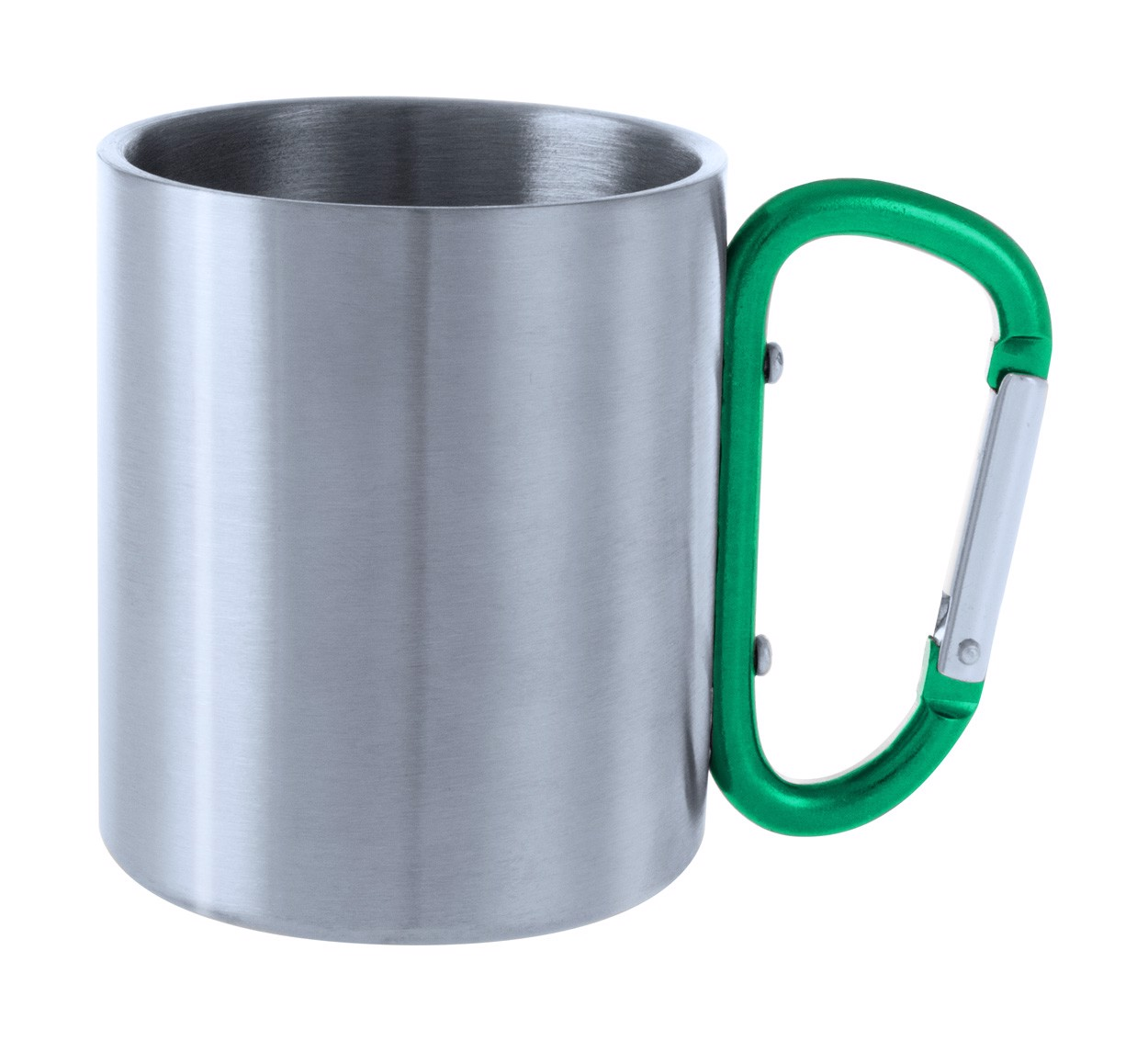 Cană Metalică Bastic - Verde / Argintiu