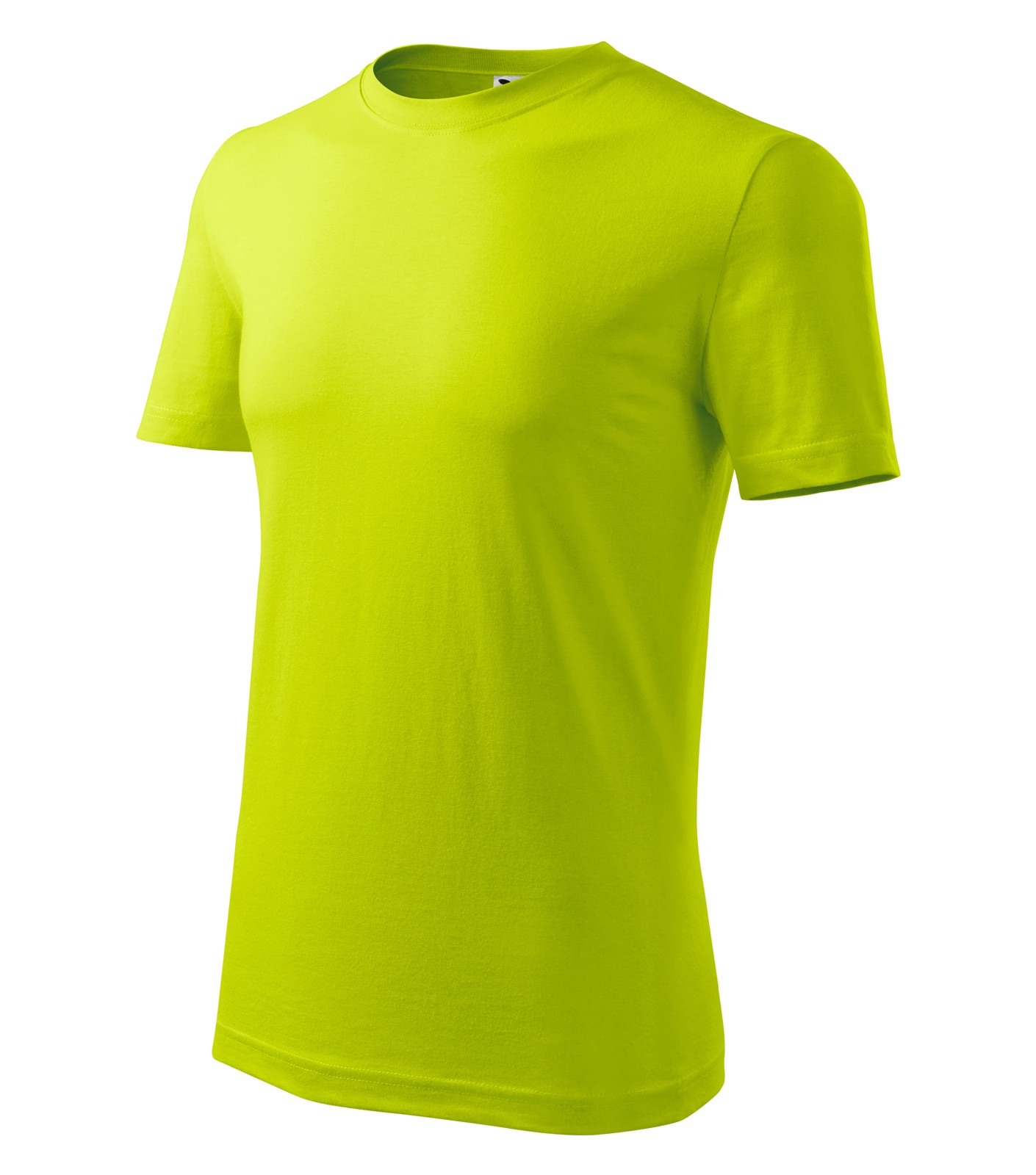 T-shirt men's Malfini Classic New - Lime Punch / L