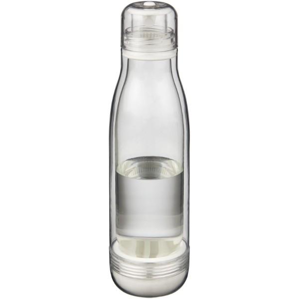 Spirit 500 ml Tritan™ Sportflasche mit Glaseinsatz - Transparent Klar