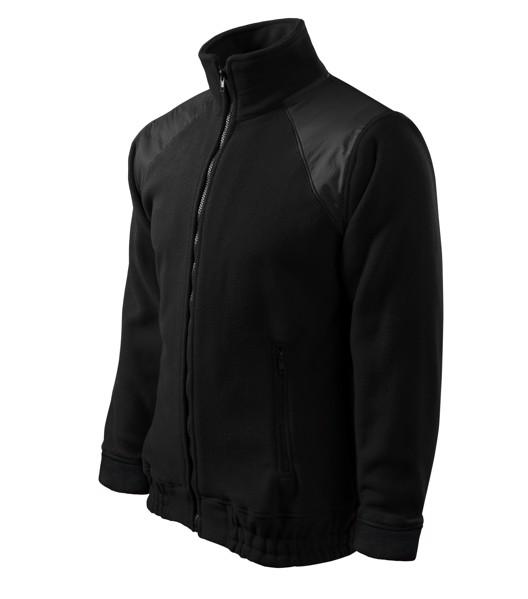 Fleece unisex Rimeck Jacket Hi-Q - Černá / 2XL
