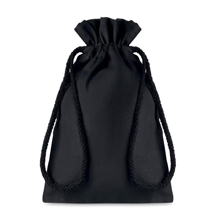 Small Cotton draw cord bag Taske Small