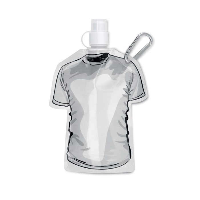 Skládací láhev tričko Samy - white