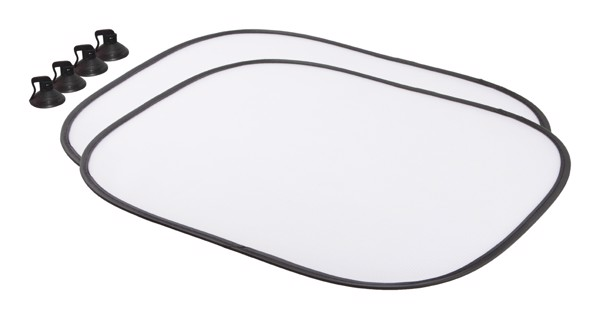 Sublimation Car Sunshades Suboside - White
