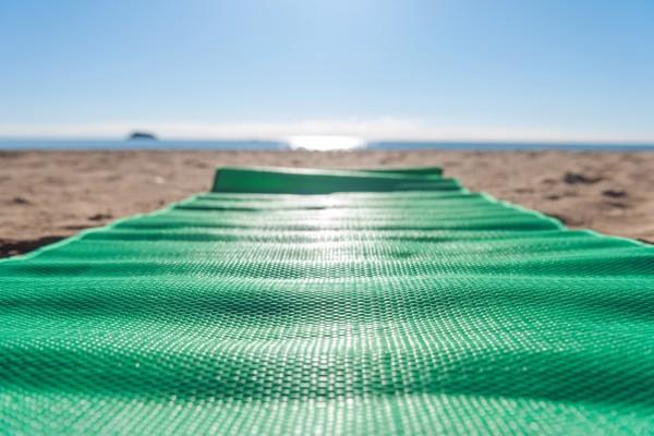Beach Mat Reiven - Green