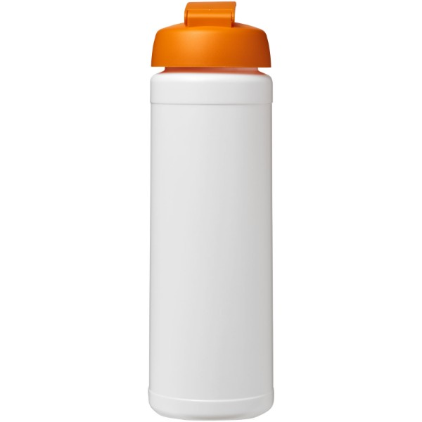Láhev s vyklápěcím víčkem Baseline® Plus 750 ml - Bílá / 0ranžová