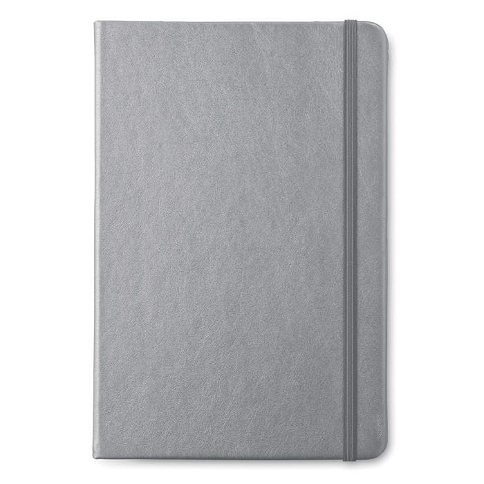 Notatnik A5 w linie Goldies Book - tytanowy