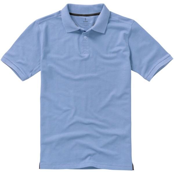 Calgary short sleeve men's polo - Light blue / XXL
