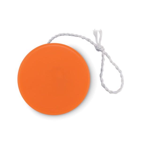 Plastic yoyo Flatyo - Orange