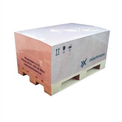 Blok na paletce s potiskem listů 100 ks