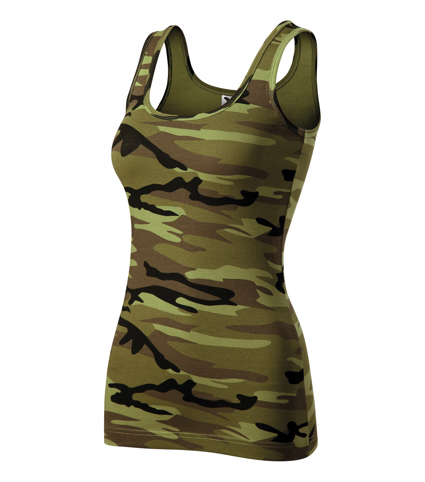 Tílko dámské Malfini Camo Triumph - Camouflage Green / XL