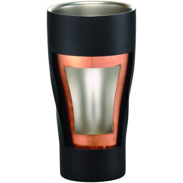 Měděný vakuový izolační pohárek Hugo - Černá