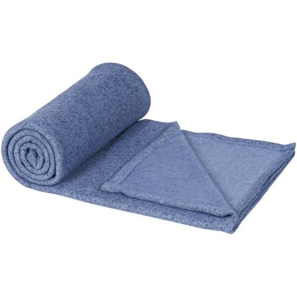 Pléd Pim ze směsi fleece - Heather modrá