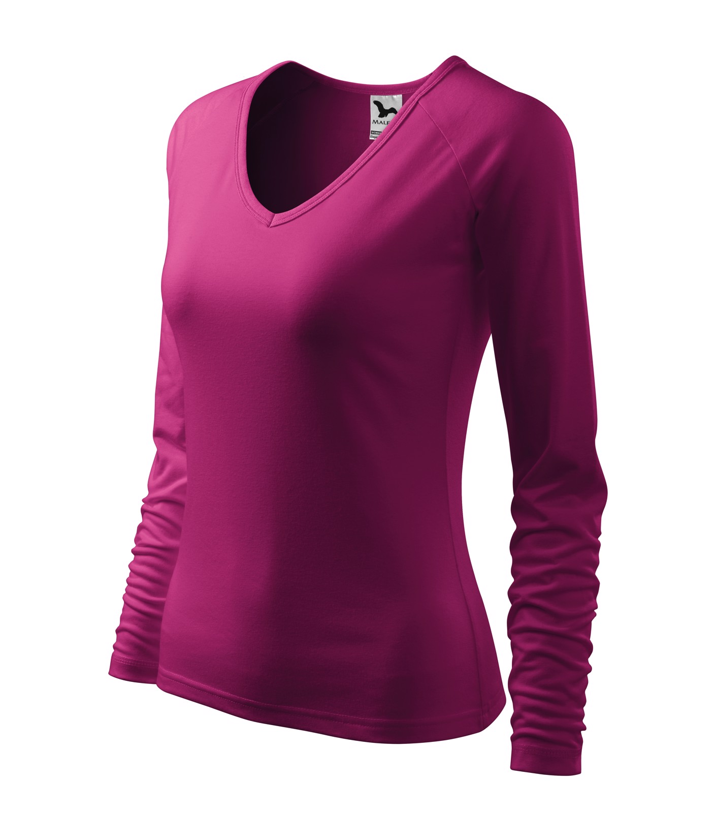 T-shirt women's Malfini Elegance - Rhododendron / L