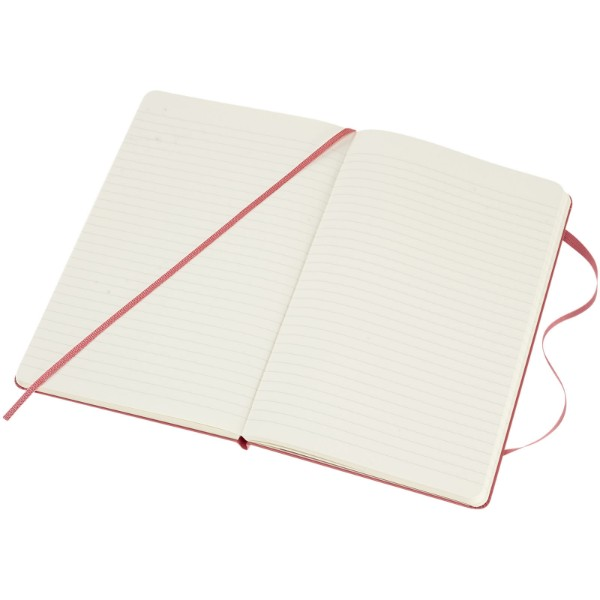 Classic L hard cover notebook - ruled - Pink