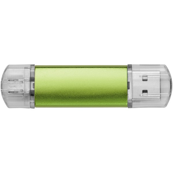 OTG USB Aluminium - Green / 1GB