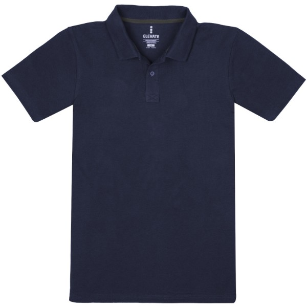 Primus short sleeve men's polo - Navy / S
