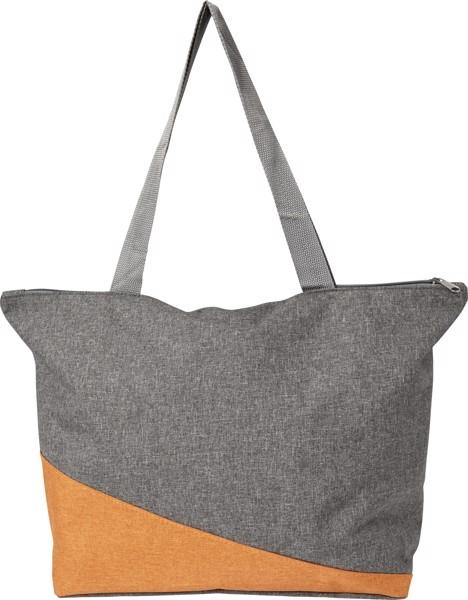 Einkaufstasche 'Oslo' aus Polycanvas - Orange