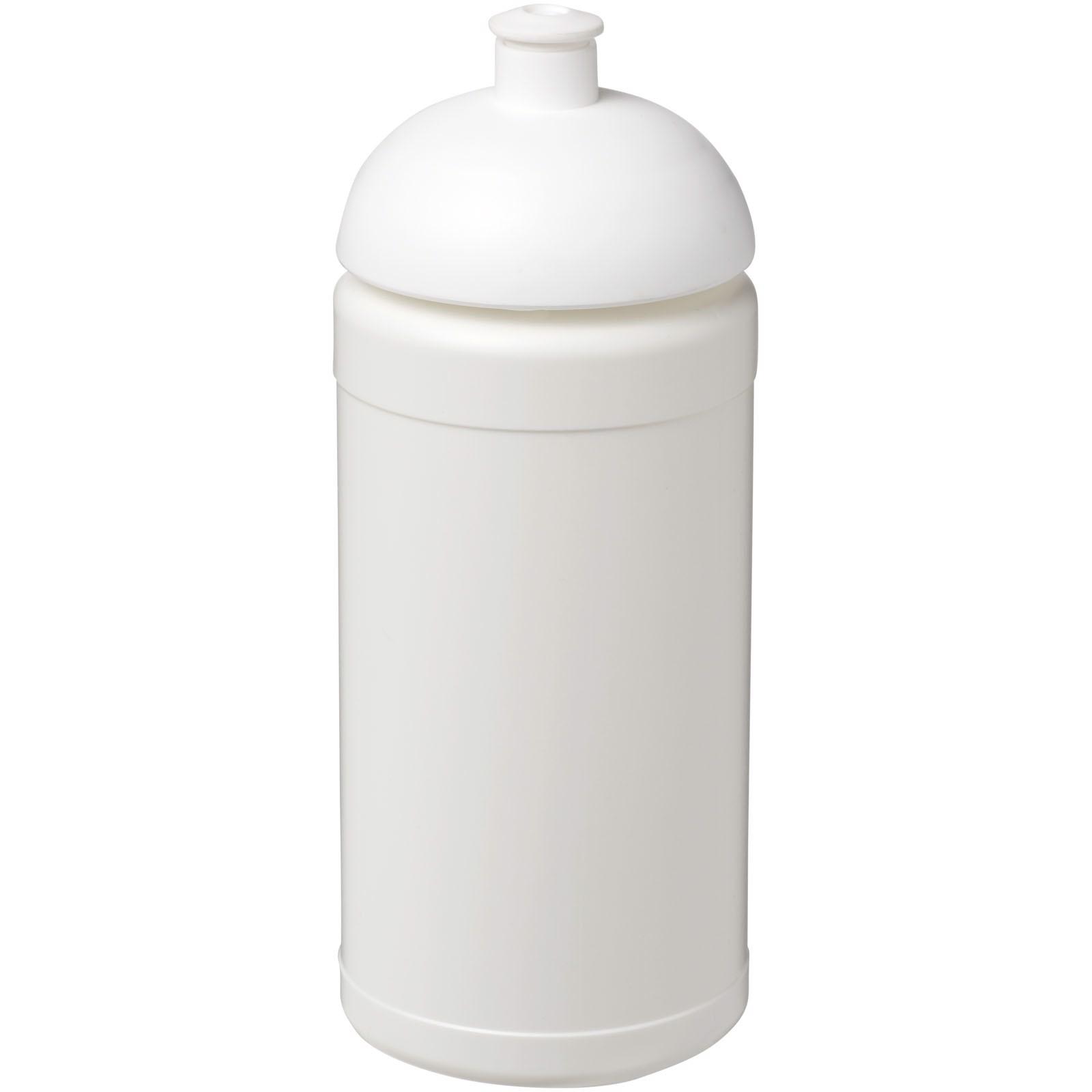 Baseline® Plus 500 ml Sportflasche mit Stülpdeckel - Weiss