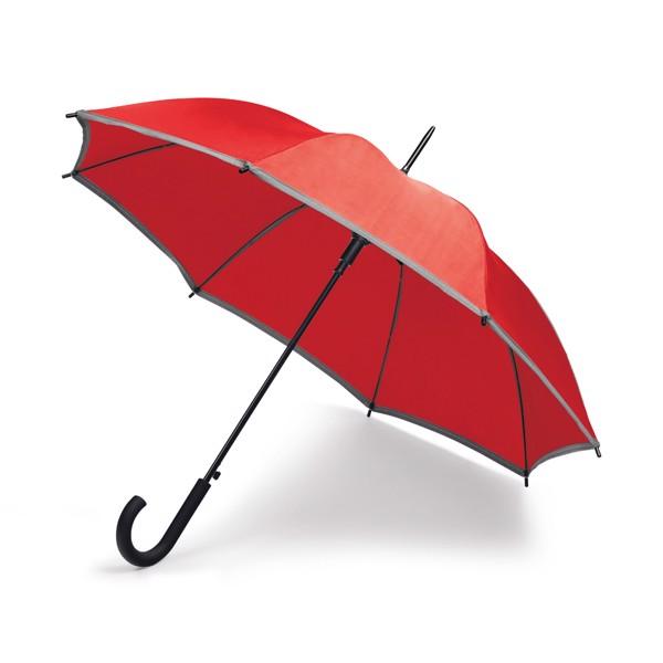MEGAN. Ομπρέλα - Κόκκινο