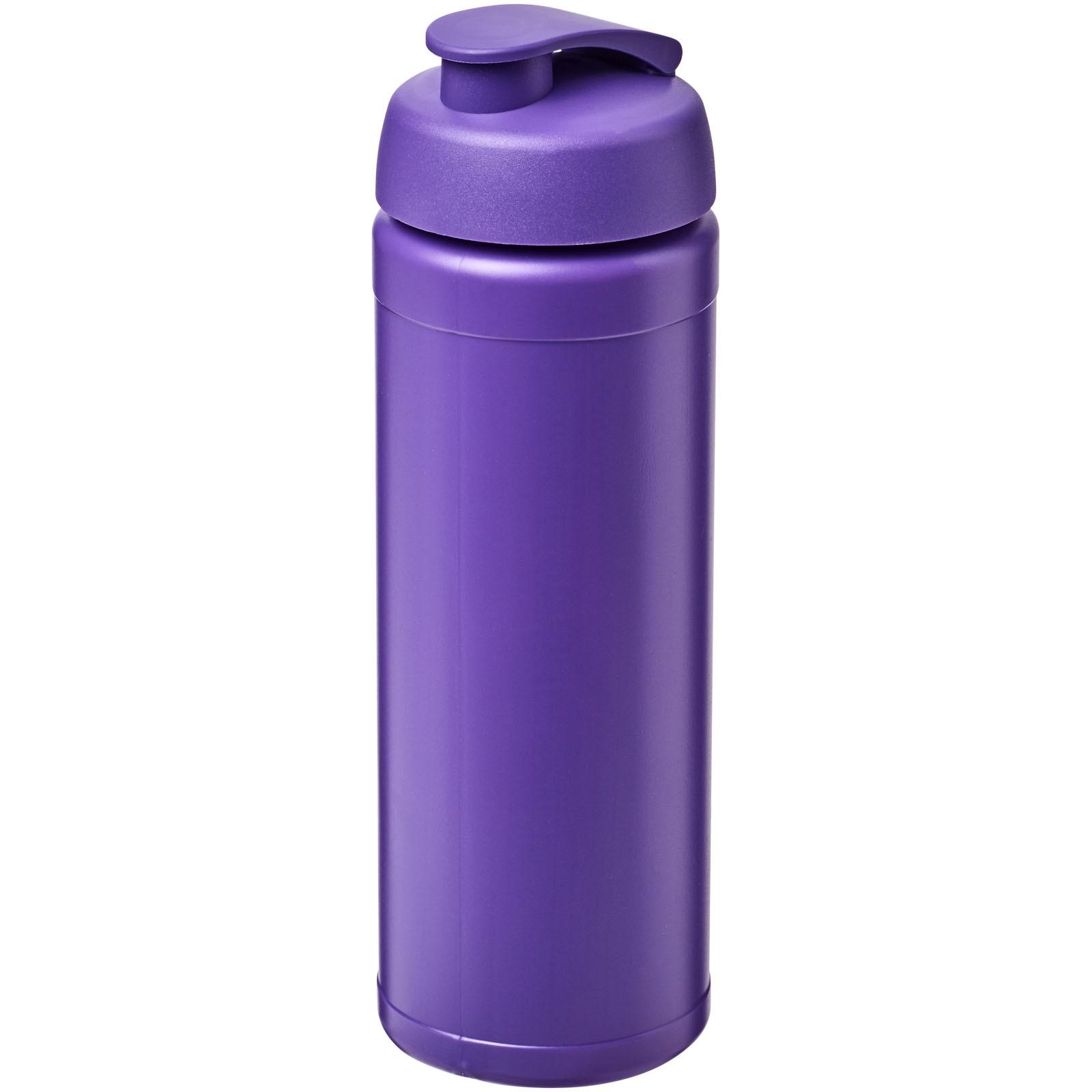 Baseline® Plus 750 ml flip lid sport bottle - Purple