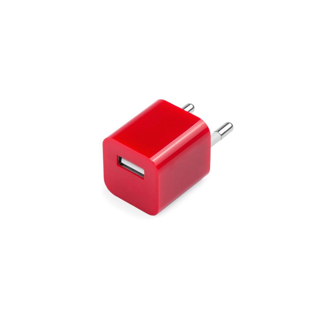 USB Ladegerät Radnar - Rot