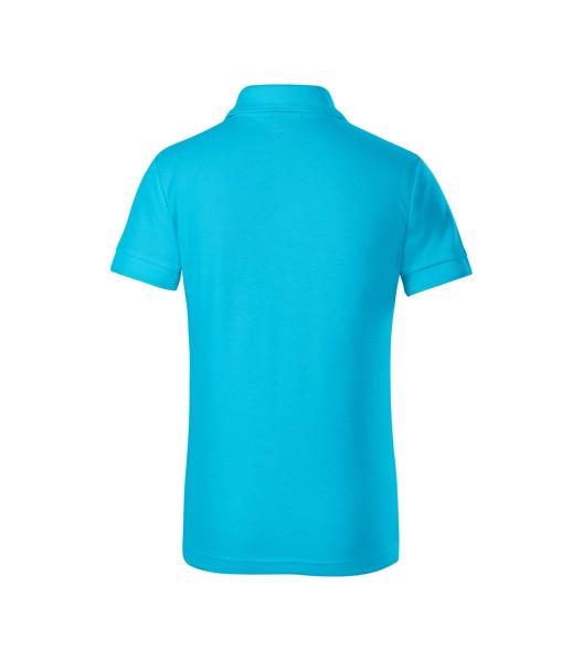 Polo Shirt Kids Malfini Pique Polo - Blue Atoll / 4 years