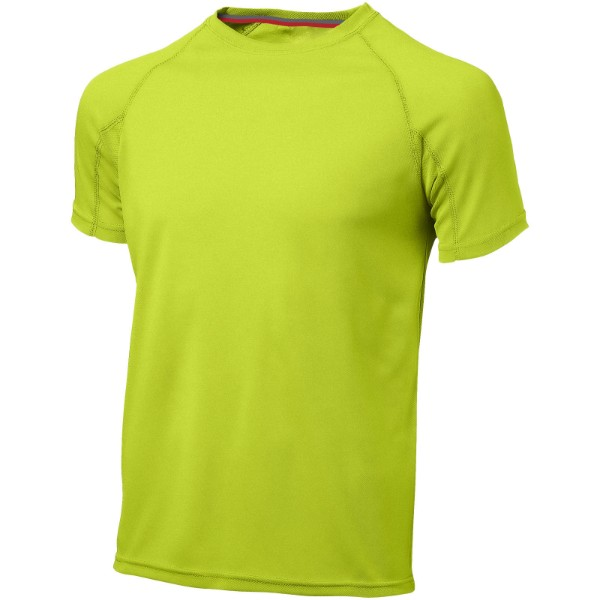 Serve short sleeve men's cool fit t-shirt - Apple green / 3XL