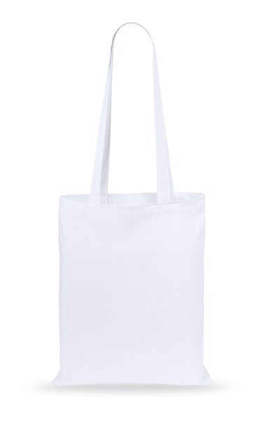 Cotton Shopping Bag Turkal - White