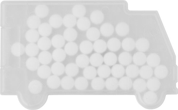 PP case with mints - White
