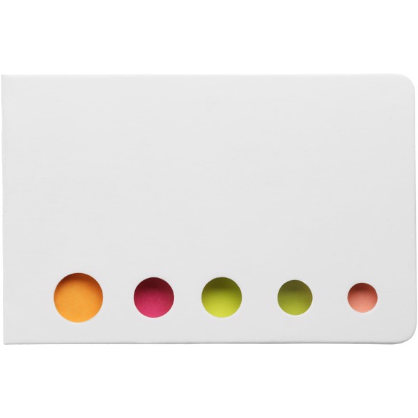 Fergason coloured sticky notes set - White