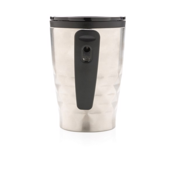 Geometrikus kávéspohár - Ezüst Színű