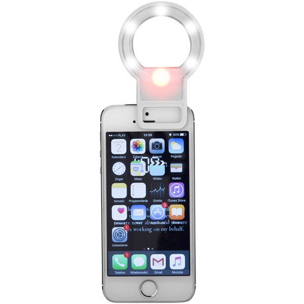 Reflekt LED mirror and flashlight for smartphones - White