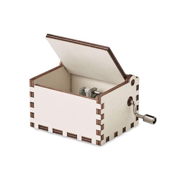Wooden Christmas music box Boxmas