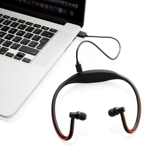 LED sluchátka na běhání