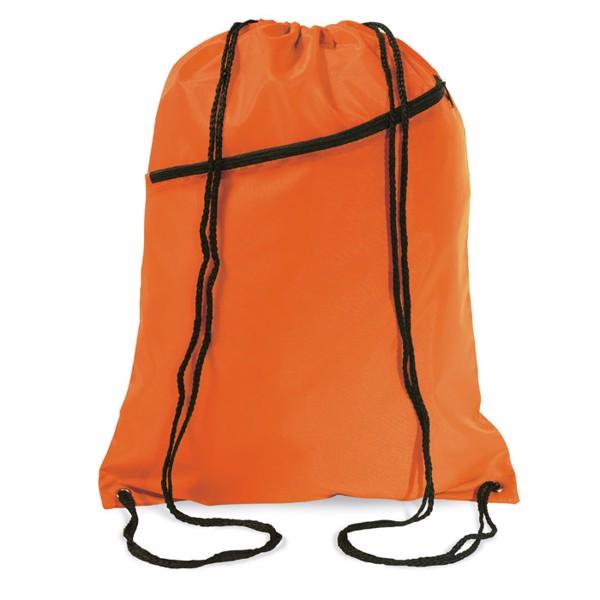 Large drawstring bag Bigshoop - Orange