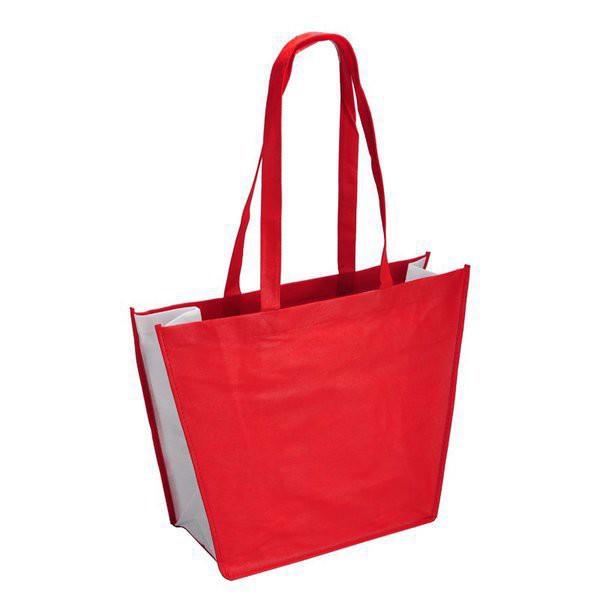 Torba na zakupy i plażę - Czerwony