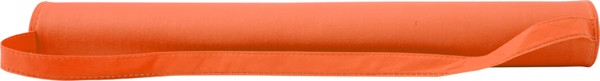 Strandmatte 'Coast' aus Non-Woven - Orange