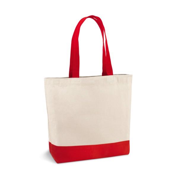 EDMONTON. Bolsa de lona 100% algodón - Rojo