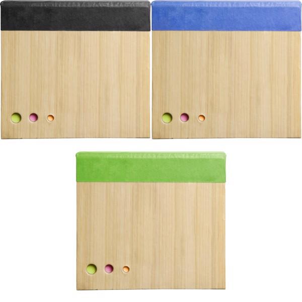 Paper memo block - Light Green