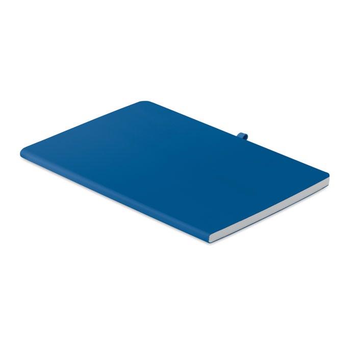 A5 soft PU cover notebook Rainbow - Blue