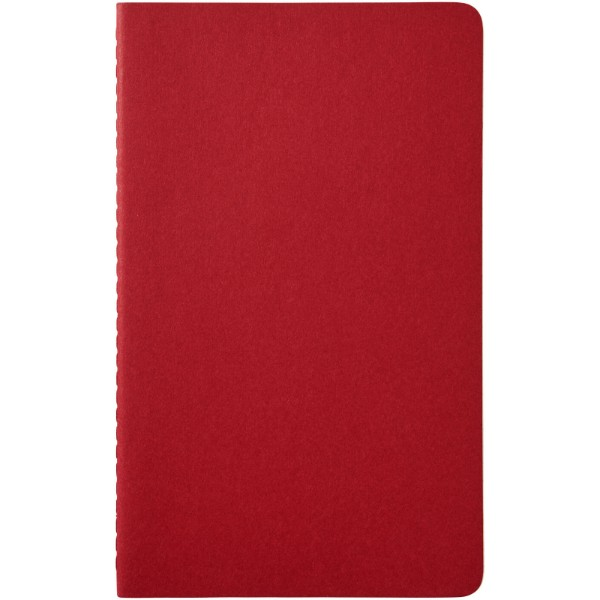 Cahier Journal L - squared - Cranberry red