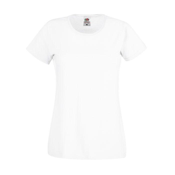 Lady-Fit T-shirt 145 g/m² Lady-Fit Original Tee 61-420-0 - White / L