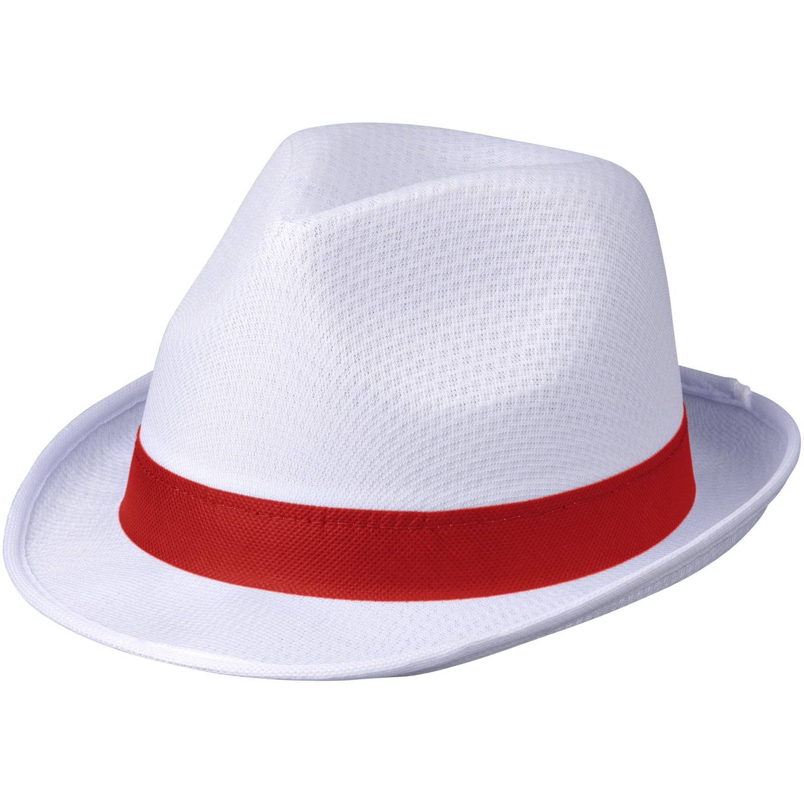 Trilby sada - White Solid / Red