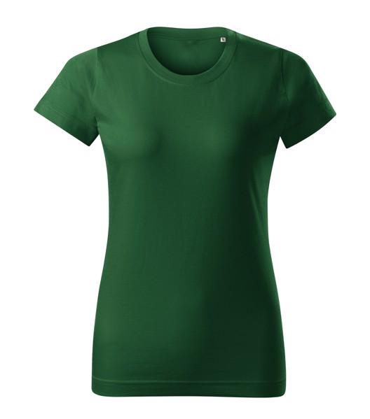 Tričko dámské Malfini Basic Free - Lahvově Zelená / L