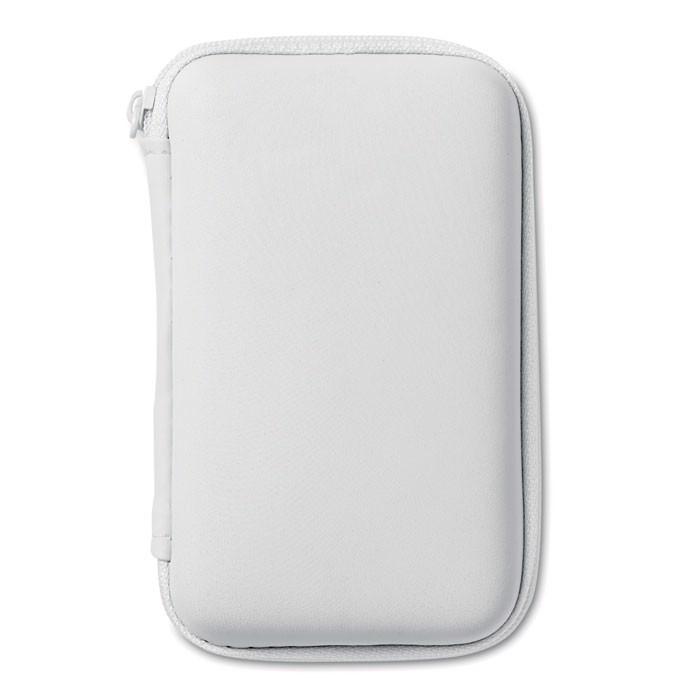 Powerbank travel set Superpouch - White