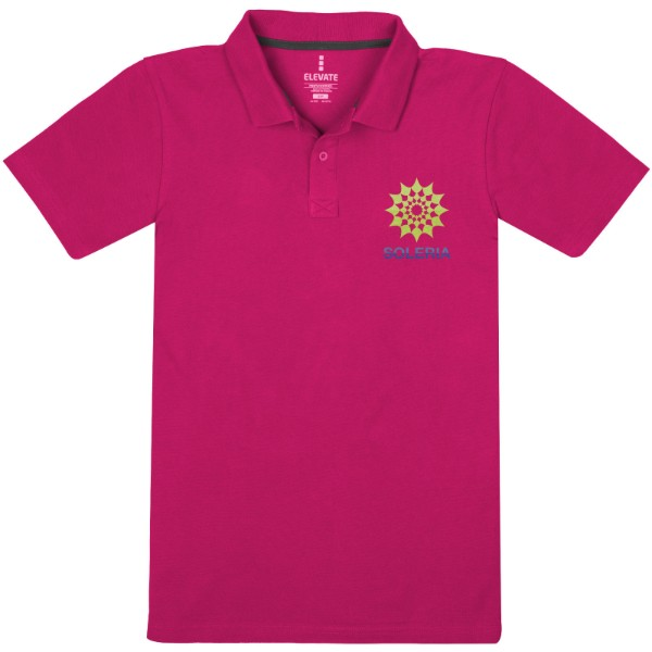 Primus short sleeve men's polo - Pink / XL