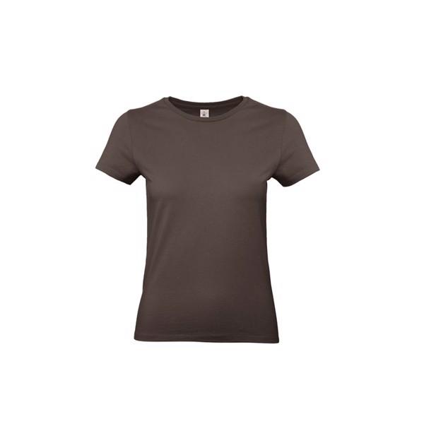 T-shirt female 185 g/m² #E190 /Women T-Shirt - Brown / L
