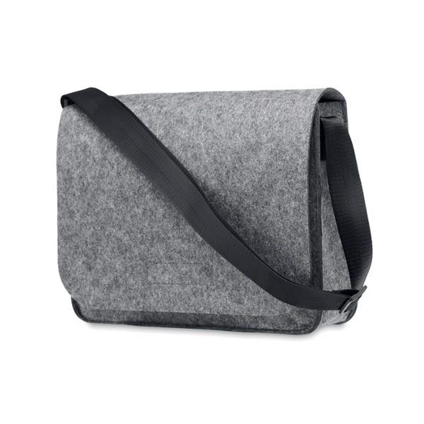 RPET felt laptop bag Baglo - Grey