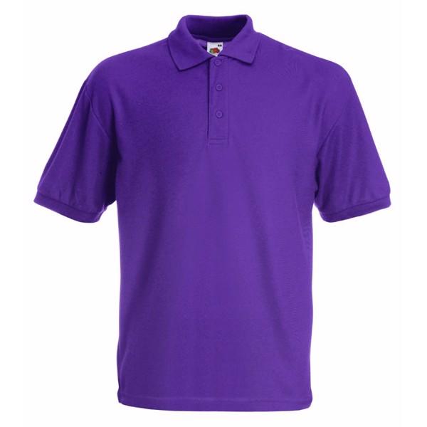 Dětská polokošile 65/35 Kids Polo 63-417-0 - Purple / L
